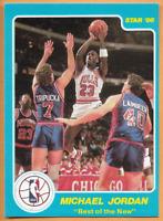 1986 Star Michael Jordan Rookie Best of The New Chicago Bulls