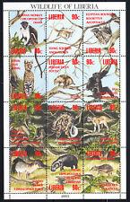 Liberia # 1160 MNH 1993-94 Fauna Sheet