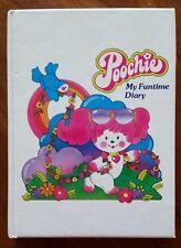 POOCHIE VINTAGE 1983 Mini Funtime Diary Mattel Printed in Japan