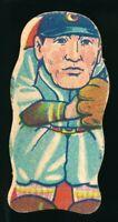 1930-40's Menko Rikkyo BIG 6 Baseball Vintage Japanese Card Diecut Drawing Uni