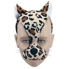 Noisy Leopard Mask With Sound FX Animal Fancy Dress Costume Accessory P1723