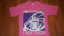 Cool womens LADY GAGA Concert Small T-Shirt Virgin Presents Monster Ball Tour