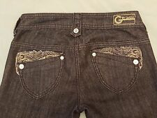Womens G by Guess NAOMI Low Boot Jeans Size 24 (D9)