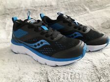 Saucony Boys Liteform Miles Sneaker BlackRoyal 12.5 Medium