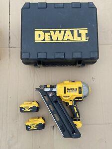 Dewalt DCN692N 18V XR Brushless Cordless Framing Nailer + 2 5.0ah Batteries