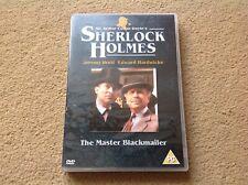 Sherlock Holmes: The Master Blackmailer DVD (2003) Jeremy Brett POST FREE in UK