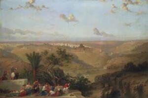 David Roberts Jerusalem Giclee Art Paper Print Paintings Poster Reproduction