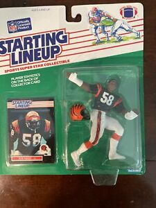 1989 Joe Kelly Cincinnati Bengals Kenner NFL Starting Lineup  Very Clean!!