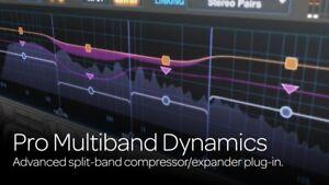 Avid Pro Multiband Dynamics AAX Plug-in Plugin FOR Pro Tools 2021 2020 12 11