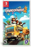 NINTENDO SWITCH VIDEO GAME OVERCOOKED 2 BRAND NEW AND SEALED