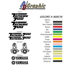 kit adesivi adesivo Stickers decal sticker per moto yamaha tenere 700 t7 bike