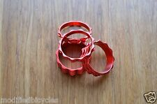 4PC Real CNC machined 1 1/8 Threadless Headset Stem Spacer ^^ RED Anodized