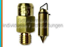 Schwimmernadelventil 2,0  Weber ADF,IDF,DMTR,DFAV,DCD,DCB,DMTR,DCOF,DGV Vergaser