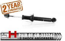 2 REAR SHOCK ABSORBERS FOR NISSAN MAXIMA (A33, CA33) 2000-.20003 / GH-332247 /