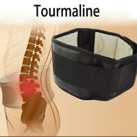 Back Support Brace Belt Lumbar Lower Waist Magnetic Pain Relief Adjust Trimmer