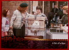 HARRY POTTER - SORCERER'S STONE - Card #034 - A BIT OF A RUN - Artbox 2005