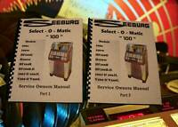 SEEBURG Select-O-Matic 100 Jukebox Service / Owners MANUAL (264 page)