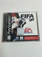 Fifa Road To World Cup 98 - PS1  Playstation Game  Complete - Free Shipping
