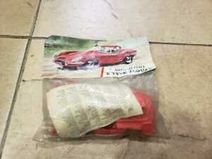 Vintage Airfix 1/32 Scale E-Type Jaguar Bagged kit Rare Red 1965 unopened
