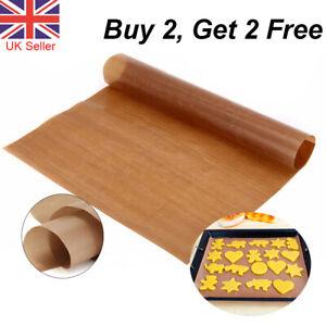 Reusable Non-Stick Bakeware Mat Grill Macaron Baking Paper Sheet 40x30cm