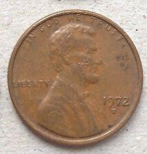 USA 1 cent 1972 D coin
