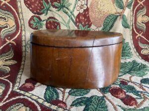 WW1 Trench Art Wooden Propeller Lidded Box
