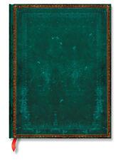 Paperblanks Notizbuch Viridiangrün Faux-Leder Klassiker GROSS 18x23cm liniert