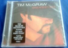 TIM MCGRAW -GREATEST HITS- CD FACTORY SEALED