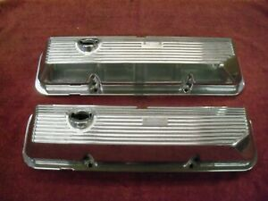 1969-1970 Ford Shelby Mustang 428 CJ Valve Covers, NOS C9ZZ-6582-B