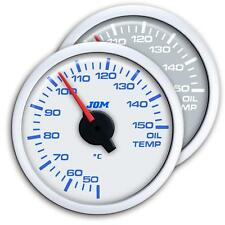 Manometre Temperature Huile Blanc Eclairage LED Diam 52mm JOM SSANGYONG