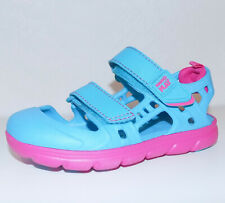 Stride Rite M2P Phibian Sandals sz 10 Toddler Turquoise Blue & Pink NEW