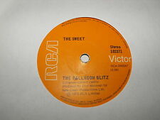 The Sweet The Ballroom Blitz & Rock And Roll Disgrace 45 single OZ RCA Label