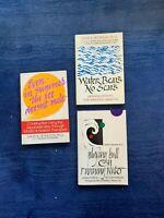 Lot of 3 David K. Reynolds, PhD books Japanese Self Help Personal Growth
