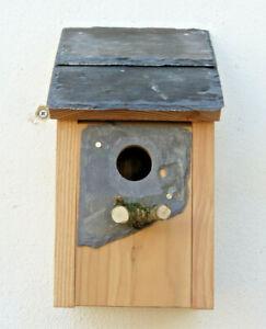 Bird box Bird House Welsh Slate roof