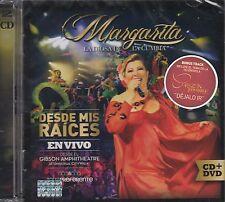 Margarita La diosa de La cumbia CD+DVD Desde mis Raices en vivo