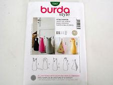 BURDA  SEWING PATTERN DOOR STOPPER 5 STYLES # 7267 ONE SIZE