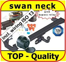 Towbar & Electrics 13pin MB Mercedes Vito II / Viano W639 2003-on / swan neck