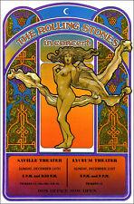 ROLLING STONES 1969 London Concert Poster
