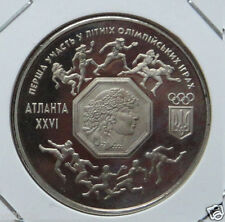 New listing 1996 Ukraine Commemorative Coin for Xxvi Olympic Games