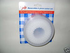 New Tala  Reversible Plastic Pastry Cutter Set 6 Piece 10924