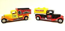 Vintage Toy Trucks - Henniez Coke & Fuel/Oil Truck