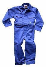 WWK Kids Childrens Boilersuit Overall Coverall Girls Boys jumpsuit 4 colours NEW