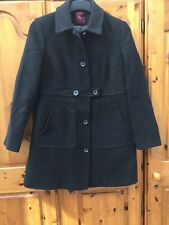 Next Black Coat Size 12