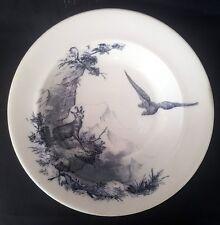 c.1876 Aesthetic Movement Sylvan Wildlife Of The Alps William Brownfield Dish