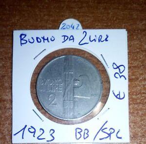 BUONO DI CASSA DA 2 LIRE 1923  N.2042