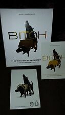 Luke Chueh BITCH Gold Fleece Exclusive SDCC 2014 Munky King + 2 PC 150 Ed SIGNED