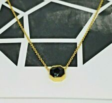 gorjana Black Onyx Protection Stone Pendant necklaces NWT