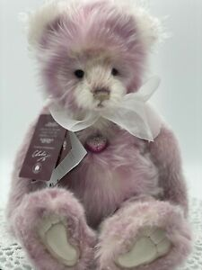 Charlie Teddy Bears, Fiona, Plumo, Limited Edition, Mint With All Tags