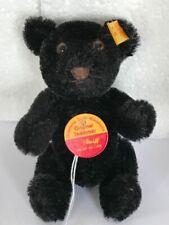 Steiff 030505 Original Black Miniature Teddy Bear Genuine Mohair.
