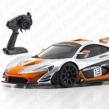 Kyosho MINI-Z RWD McLaren P1 GTR Silver/Orange 1/27 Racing Car MR03 Readyset RTR